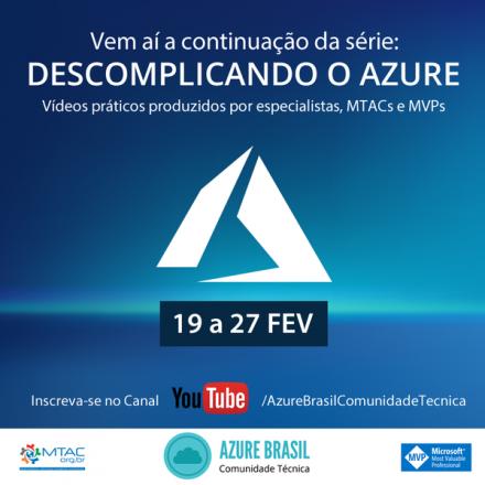 [Descomplicando o Azure – Azure Brasil] MongoDB no Azure